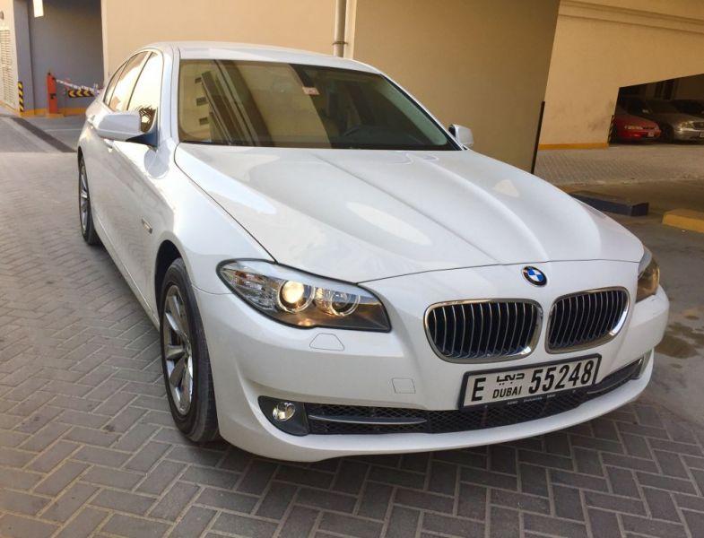 2013 BMW 520i GCC specs,Valid service contract, Ag